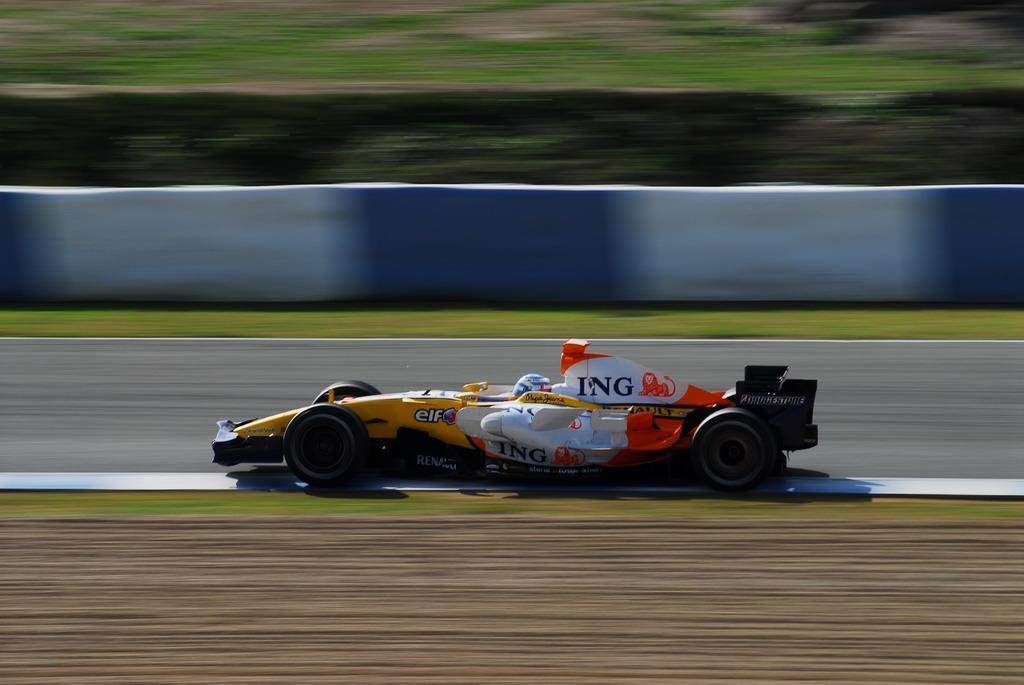 Alonso en Jerez. Pretemporada