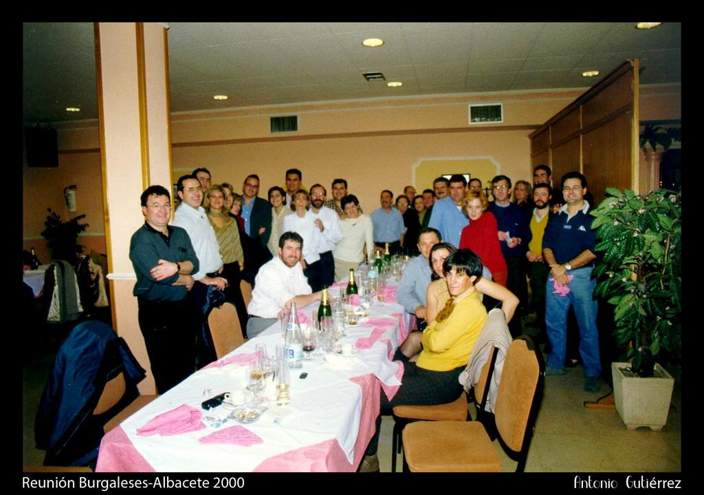 cena blanco grande en Burgos