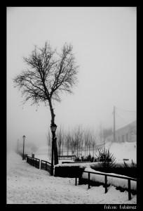Parque nevado en Somosierra
