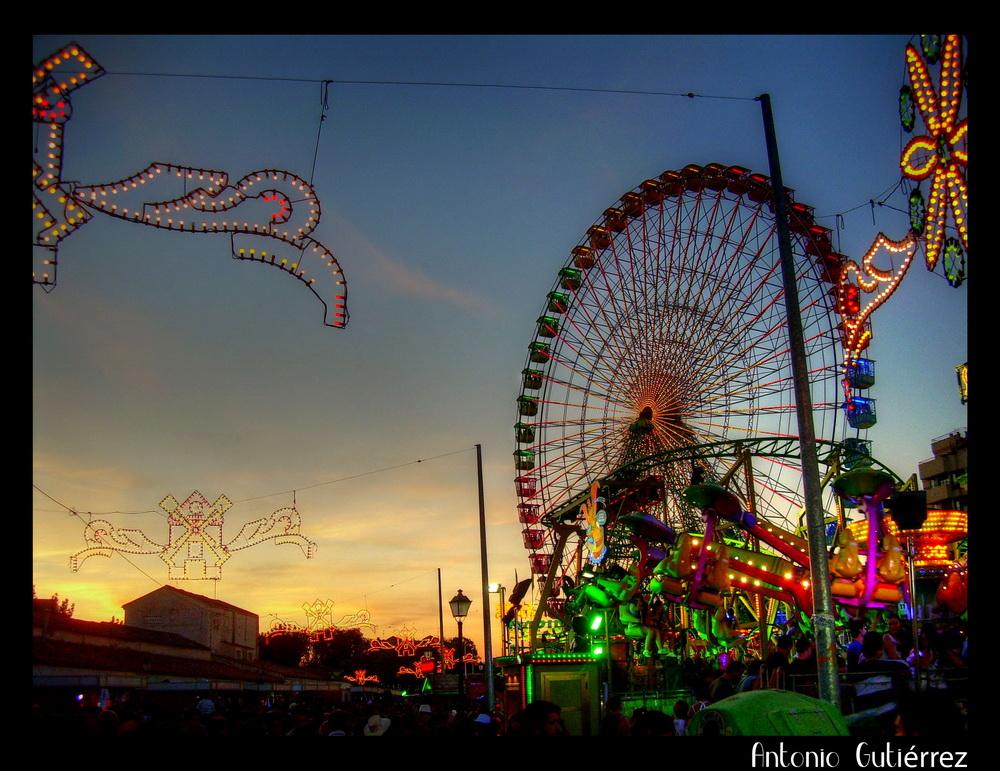 Cielo y Noria Feria 09