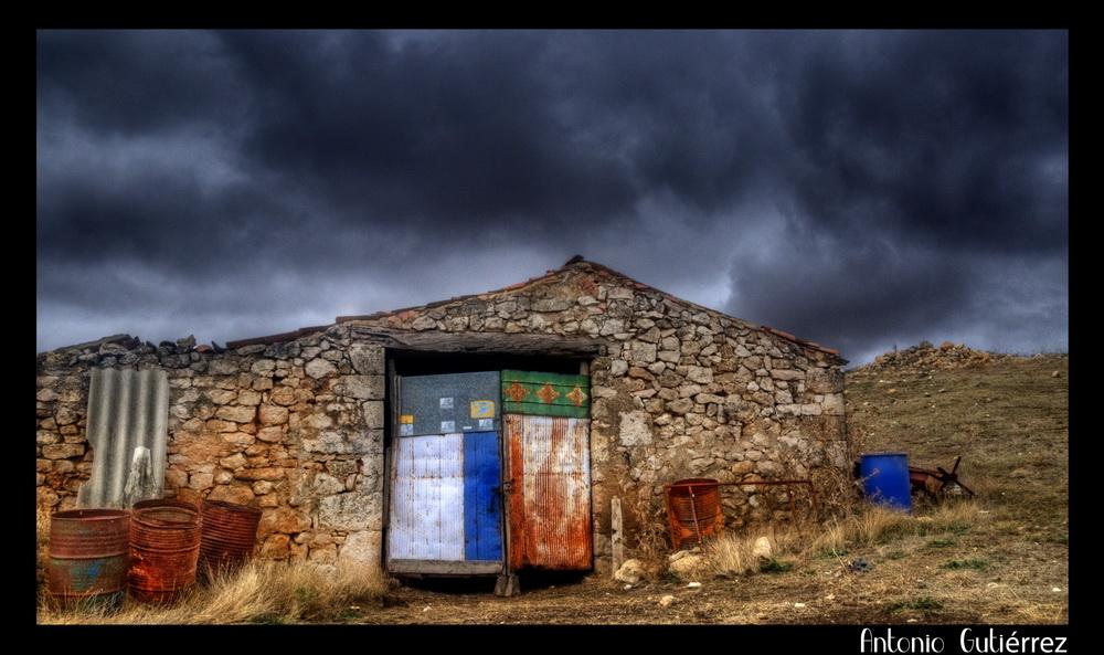 Puerta Cochera Caleruega 3