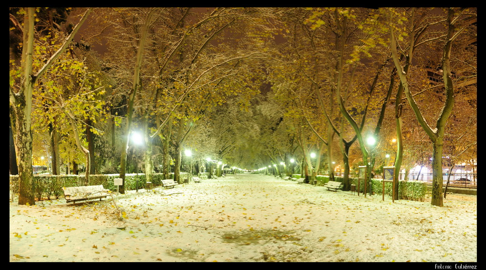 Pasillo Blanco Parque Nevada 09
